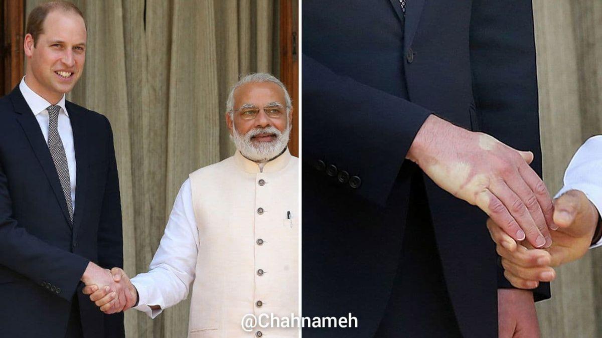 دست دادن عجیب نخستوزیر هند +عکس