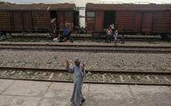 اسکان موقت مردم سیلزده در قطار