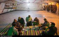 تصاویر: افطاری در گلزار شهدای بهشت زهرا(س)