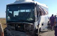حمله تروریستی به یک اتوبوس در سوریه ۹ کشته برجای گذاشت