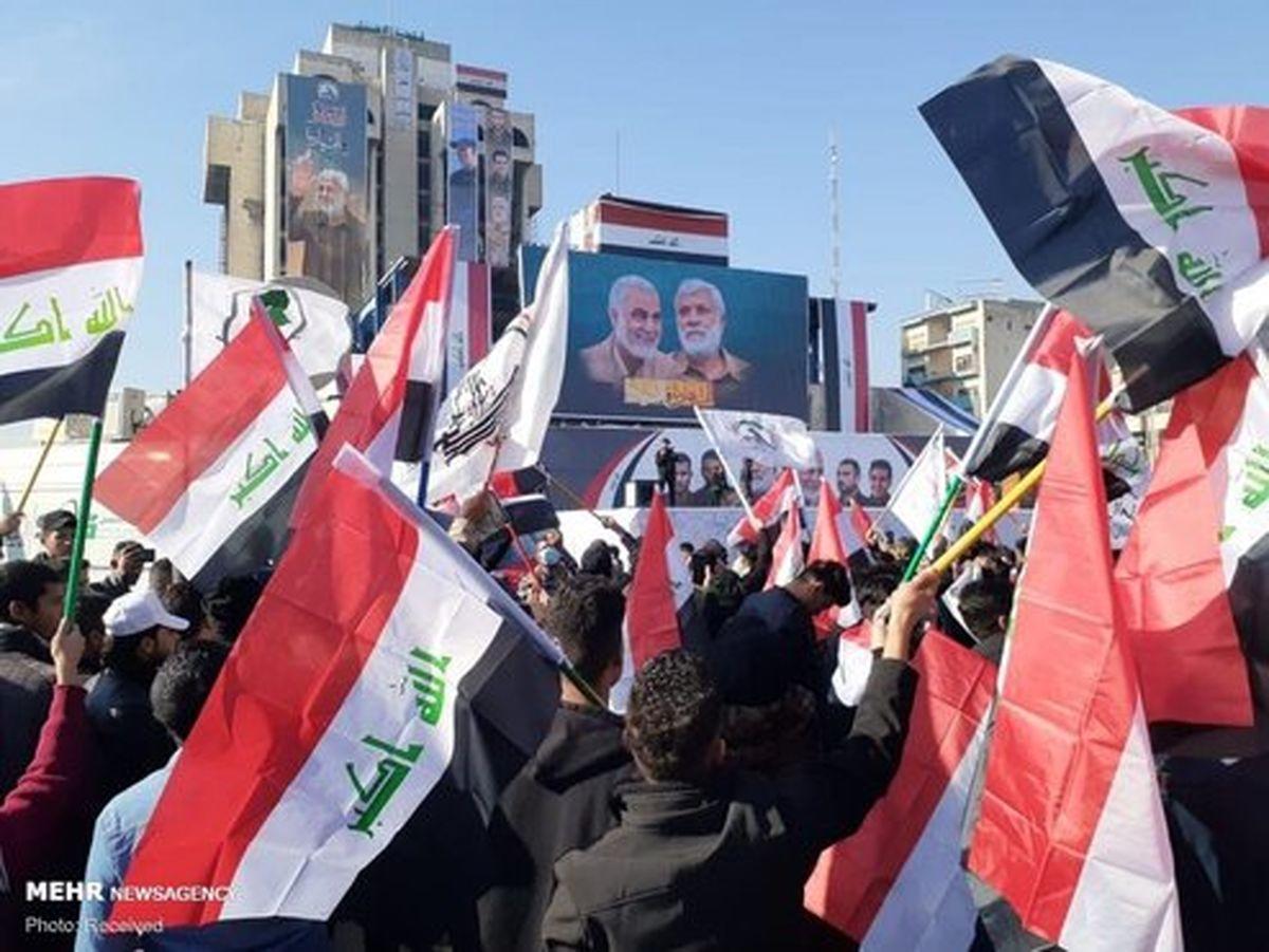 تصاویر: تجمع میلیونی مردم عراق در میدان التحریر