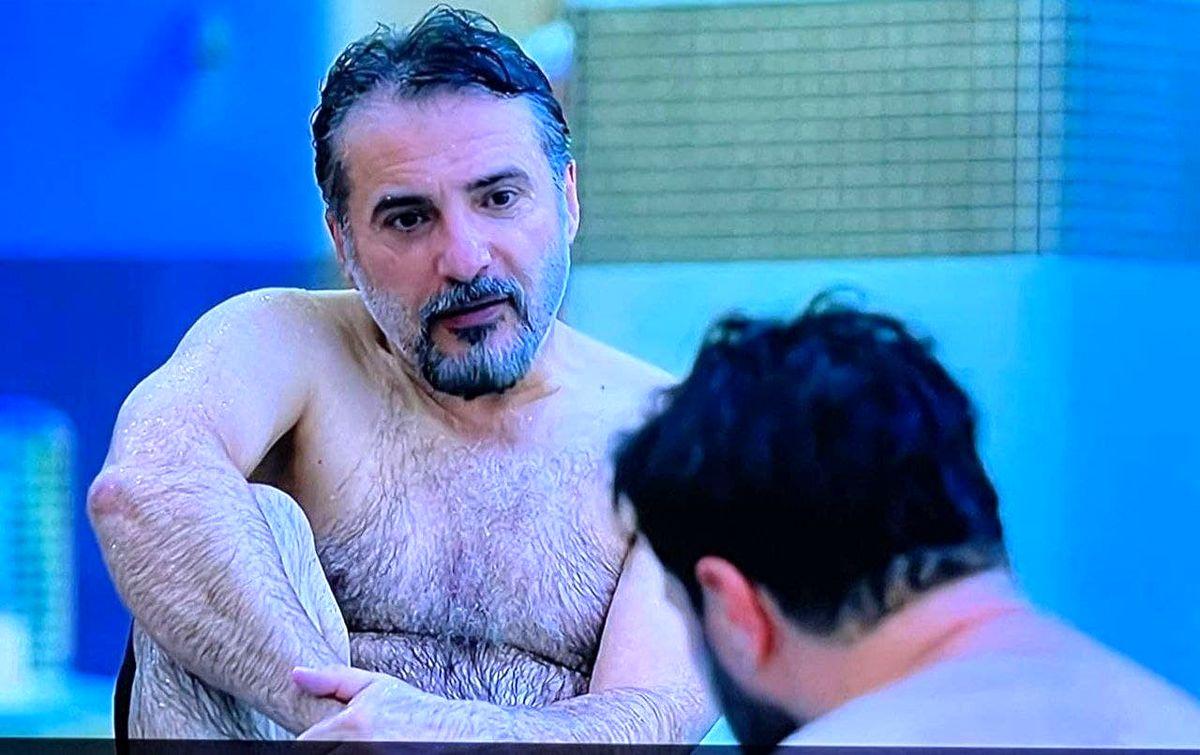 سکانس جنجالی سریال زخمکاری/صحنه خبرساز سید جواد هاشمی در زخم کاری +عکس