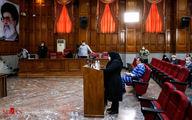 تصاویر: خانم وکیل در دادگاه محمد امامی