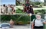 این پیرمرد ۶۸ ساله پابرهنه به ۱۴۶ کشور سفر کرد +عکس