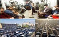 عکس: ترافیک عجیب و شلوغی مترو تهران صبح امروز در روزهای قرنطینه