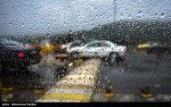 بارش شدید باران در رشت +فیلم