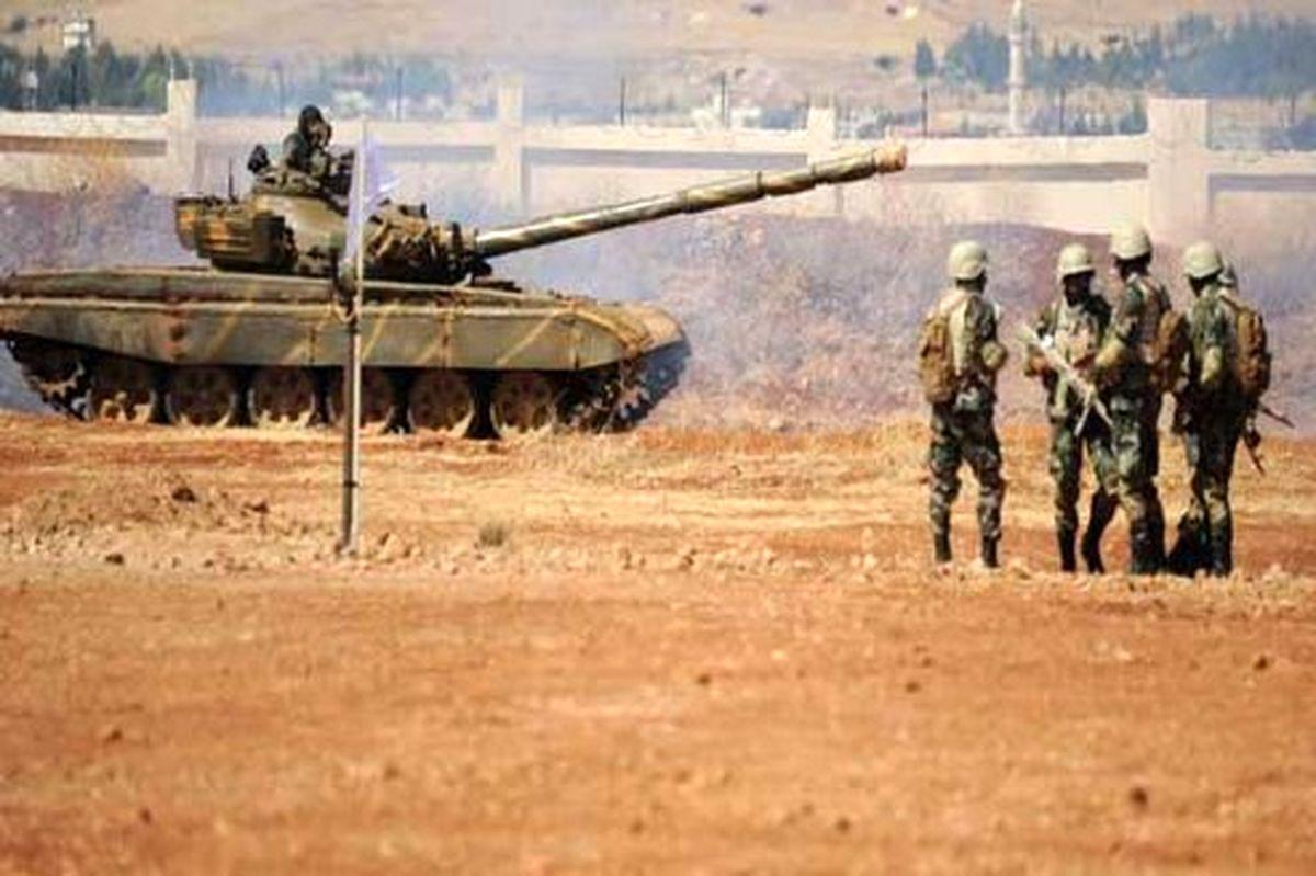 ارتش سوریه کاروان نظامی آمریکا را وادار به عقبنشینی کرد