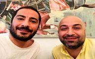 نوید محمدزاده با برادرش در «قورباغه» همبازی شد +عکس