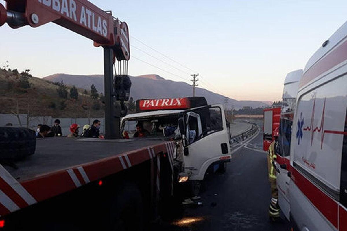 افرایش تعداد مصدومان حادثه واژگونی اتوبوس