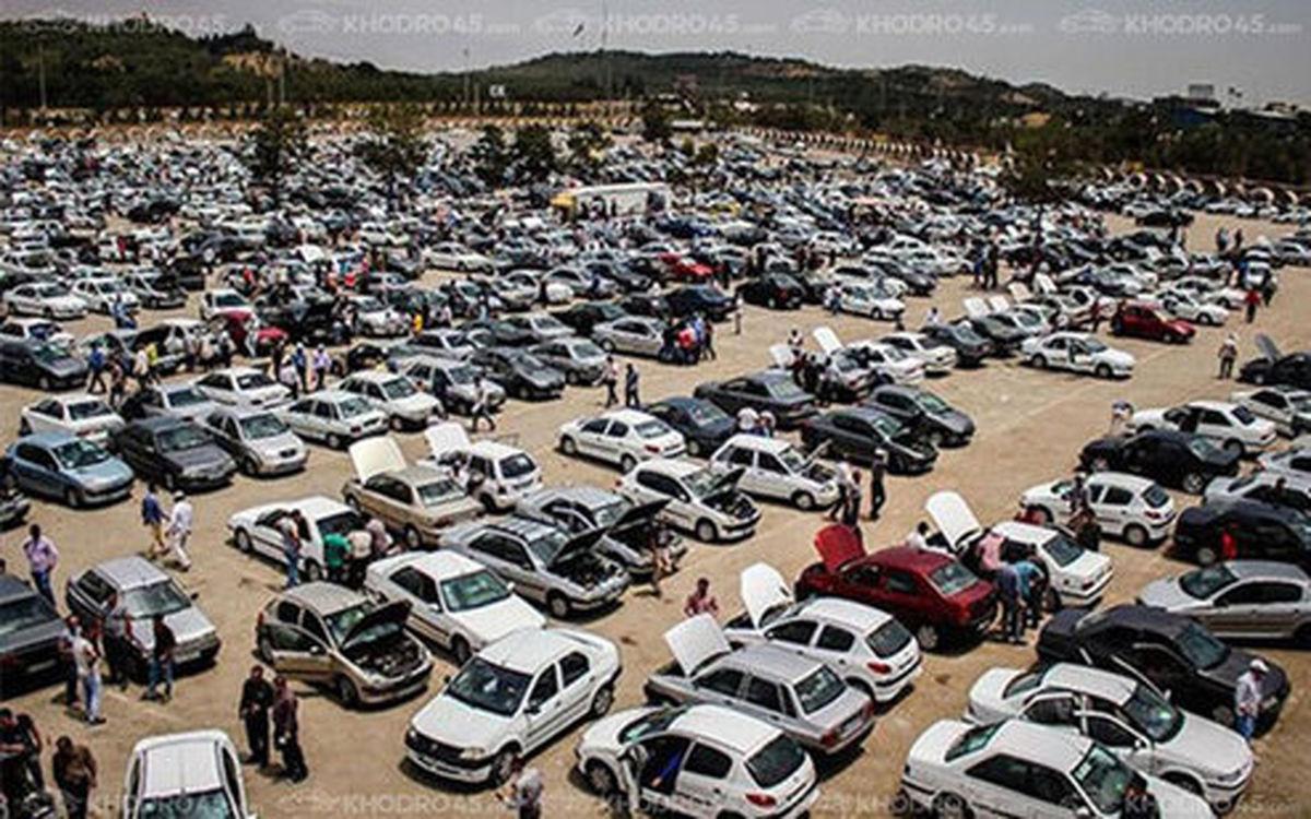 افزایش ۵۰۰ هزار تا ۵ میلیونی قیمتها در بازار خودرو