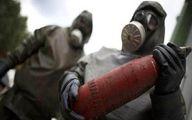 کشف مواد شیمیایی به جا مانده از تروریستها در ادلب