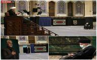 تصاویر متفاوت از مراسم عزاداری در بیت رهبری
