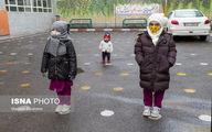 تصاویر: بازگشایی مدارس ابتدایی در تبریز