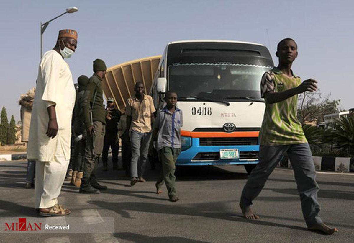 تصاویر: آزادی دانش آموزان نیجریهای