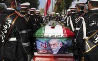 تصویر خبرگزاری آسوشیتدپرس از مراسم تشییع شهید فخریزاده