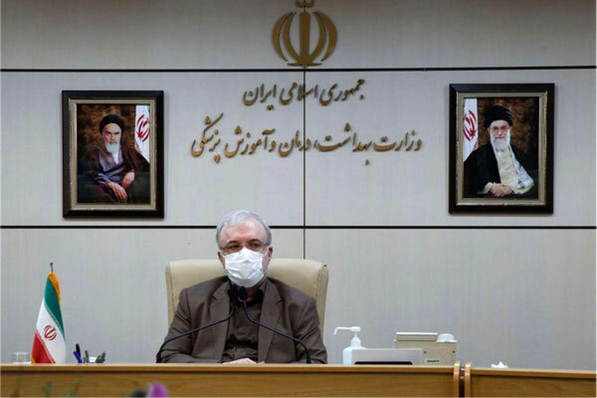 گلایه کرونایی وزیر بهداشت از  خوزستانی ها