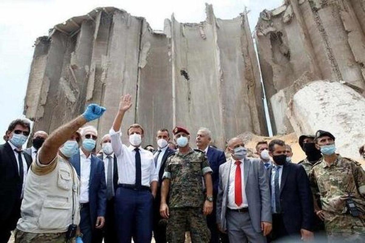 چماق و هویج ماکرون بر سر طبقه سیاسی لبنان