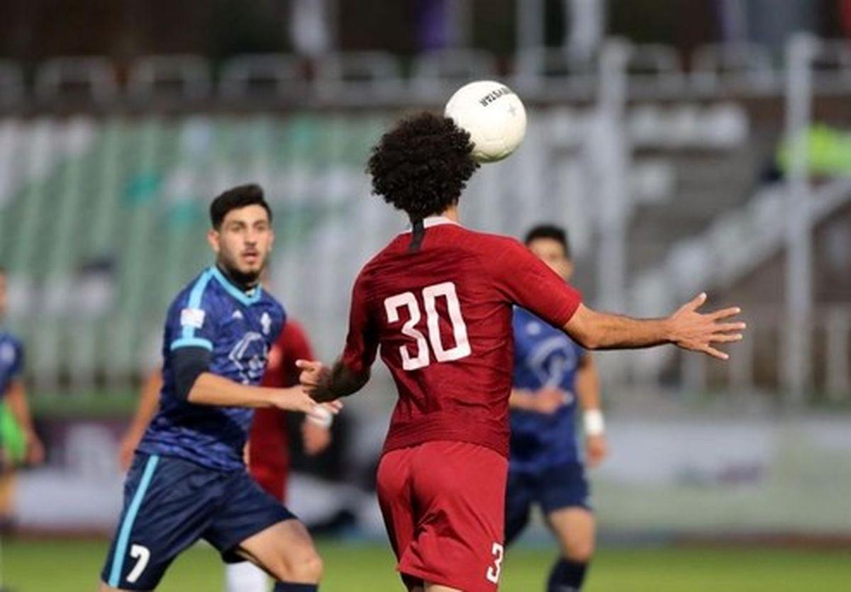 جدول لیگ برتر فوتبال در پایان هفته دوم