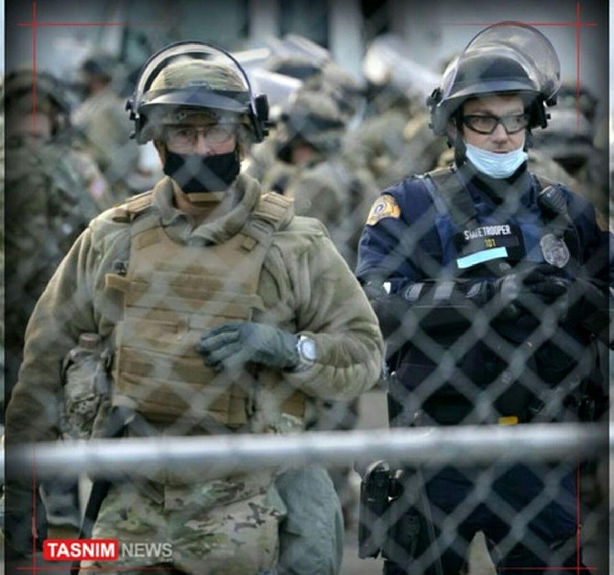 تدابیر امنیتی شدید در مراسم تحلیف «بایدن»