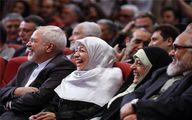 عکس: خنده از تهدل همسر ظریف