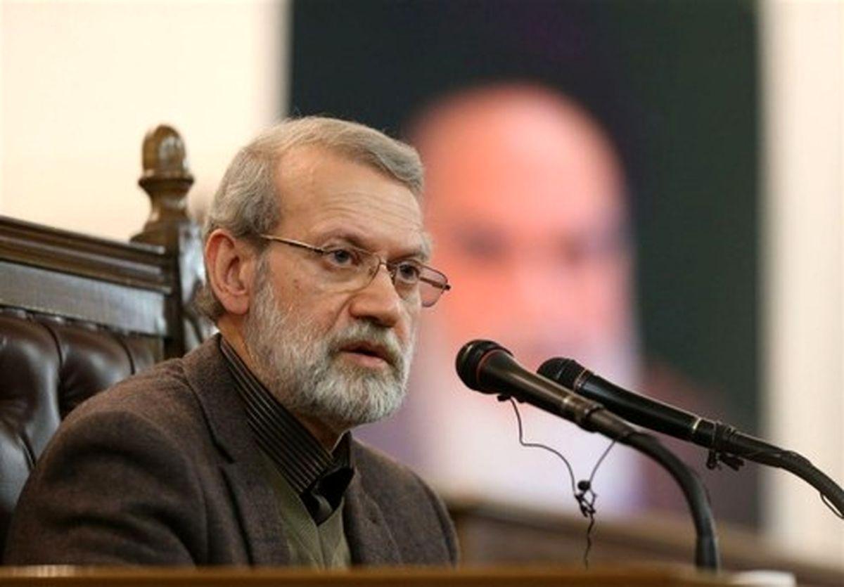 لاریجانی: وزارت بهداشت جلوتر از کشورهای اروپایی است