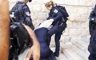 حمله دیوانهوار به یک کودک و مادر فلسطینی +فیلم