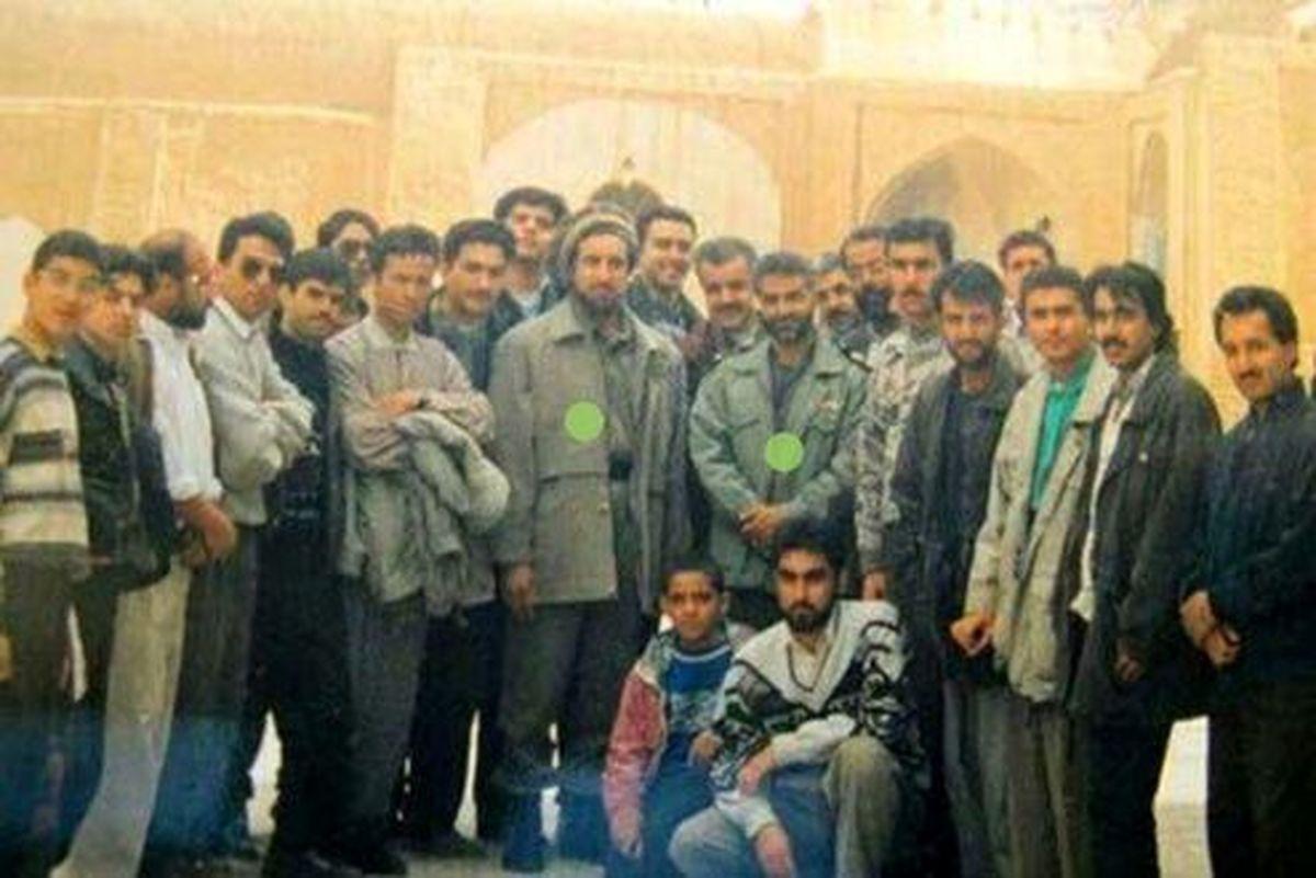 قهرمان ملی افغانستان در کنار «حاج قاسم» +عکس