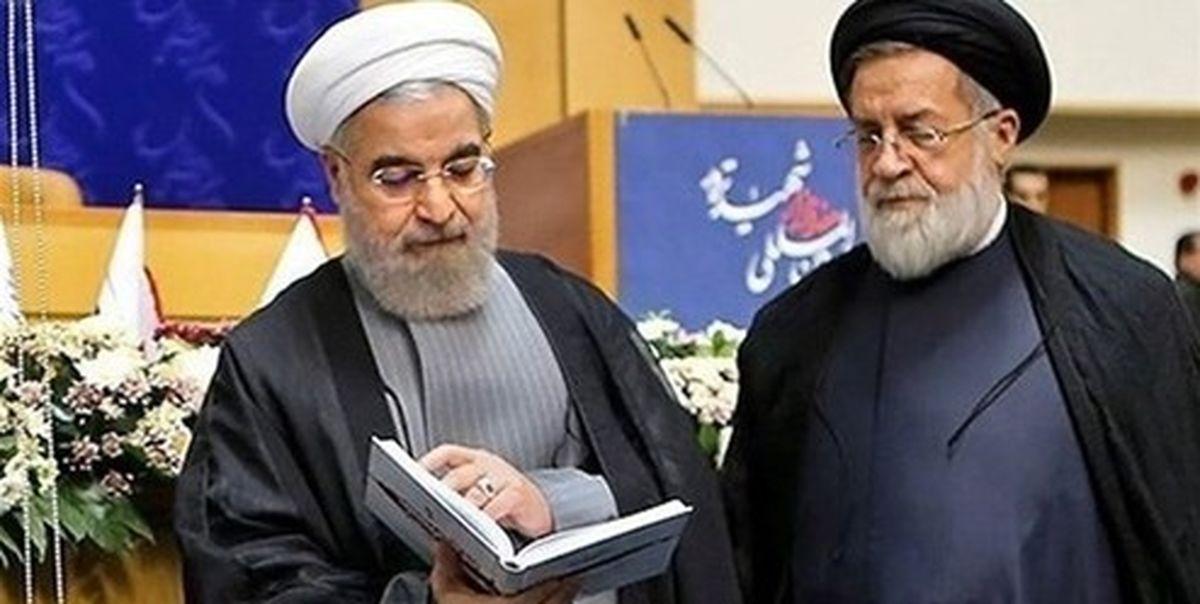 روحانی با استعفای رئیس بنیاد شهید موافقت کرد
