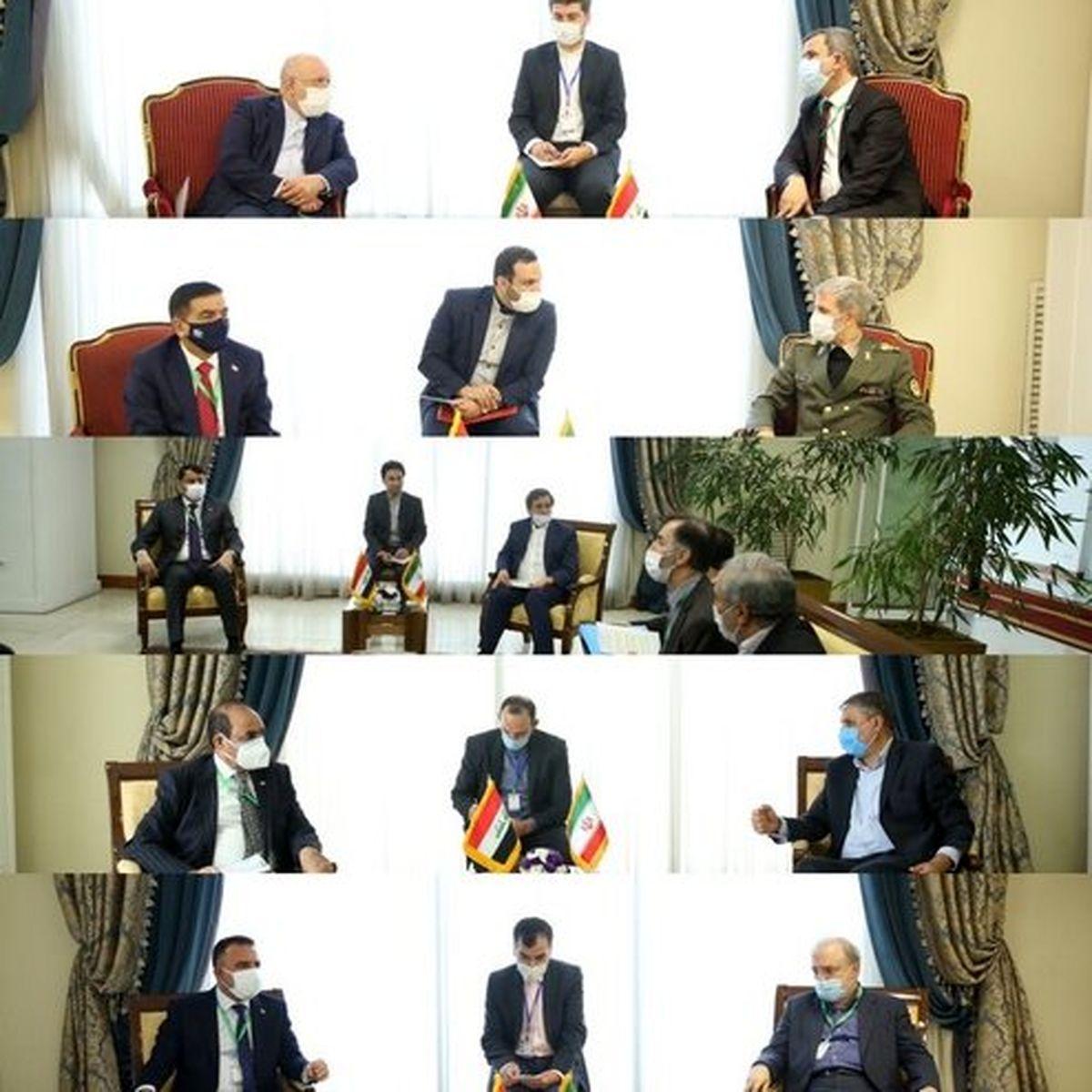 گفتوگوی خصوصی مقامات دولتی ایران و عراق