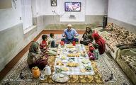 تصاویر: افطاری مهمان خانواده سیل زده ترکمن