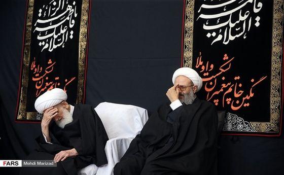 تصاویر: عزاداری شهادت حضرت زهرا (س) در بیوت مراجع