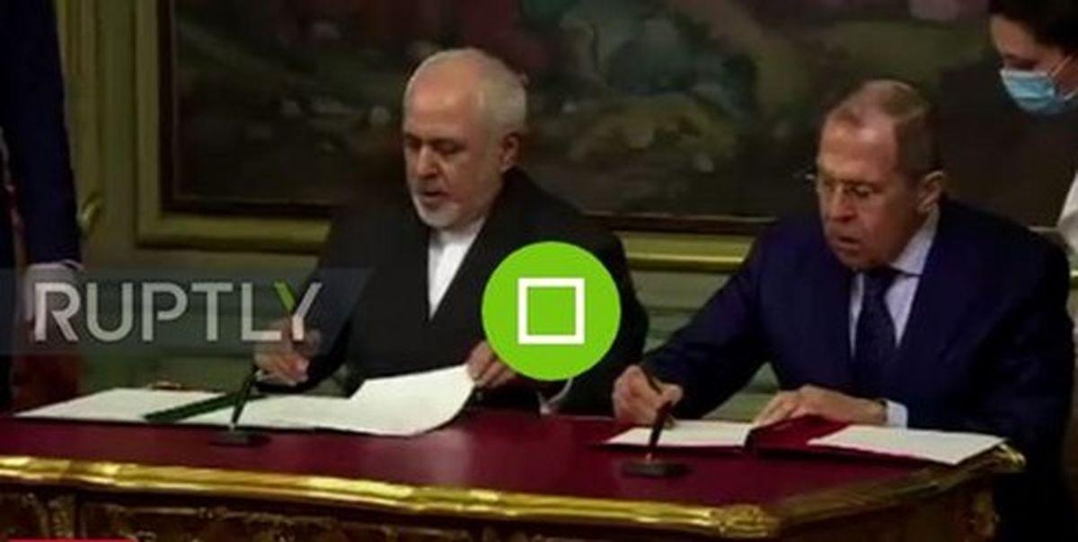 اعلامیه مشترک ایران و روسیه به امضای ظریف و لاوروف رسید