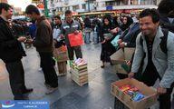 تصاویر/ فروش لوازم چهارشنبه سوری