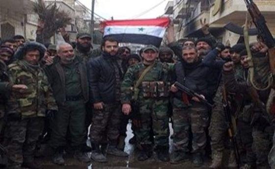 ارتش سوریه یک روستا را در غرب حلب آزاد کرد