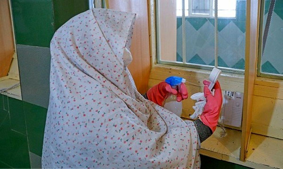 تصاویر: کرونا و زندان زنان