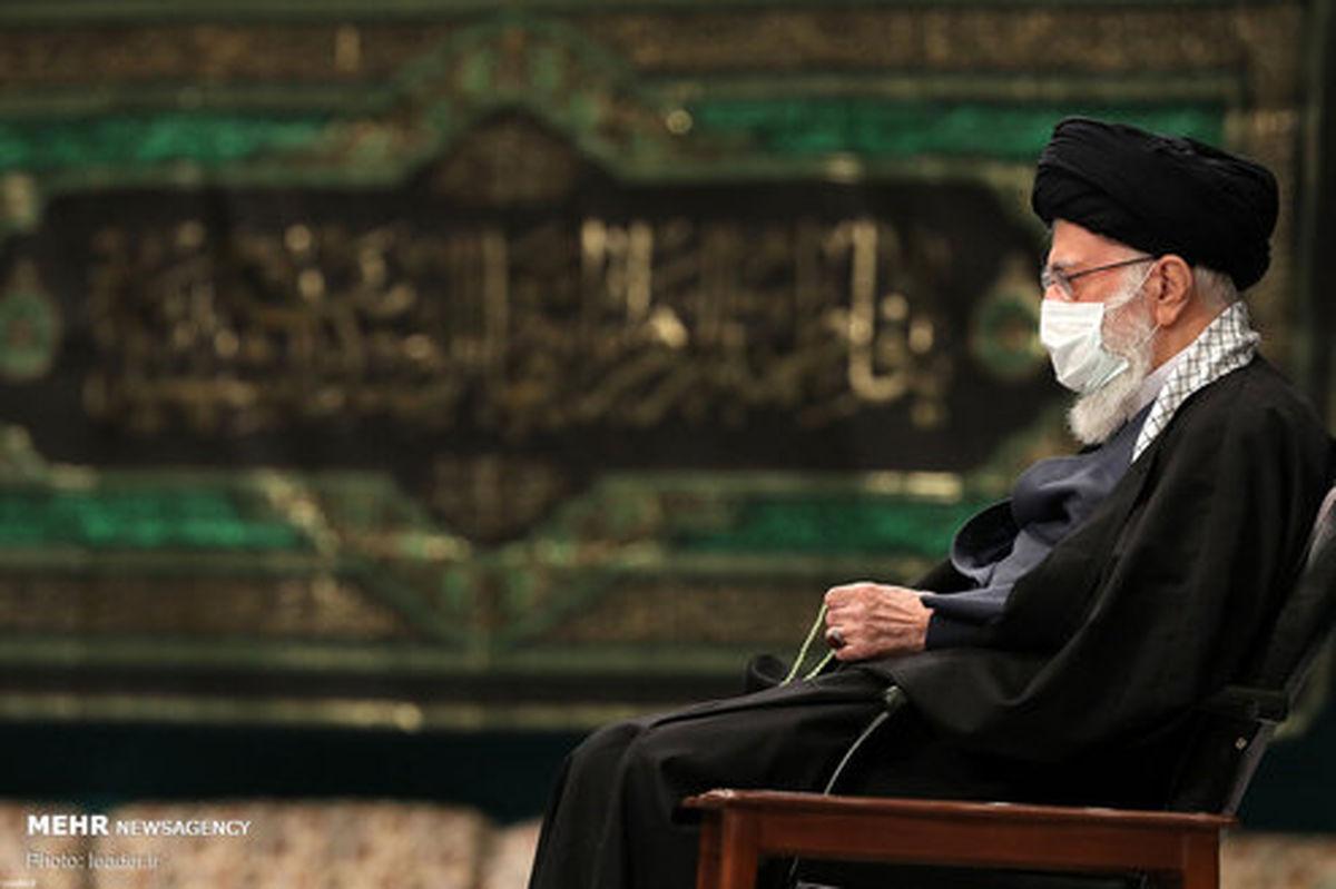 تصاویر: دومین شب عزاداری حضرت فاطمه(س) با حضور رهبر انقلاب