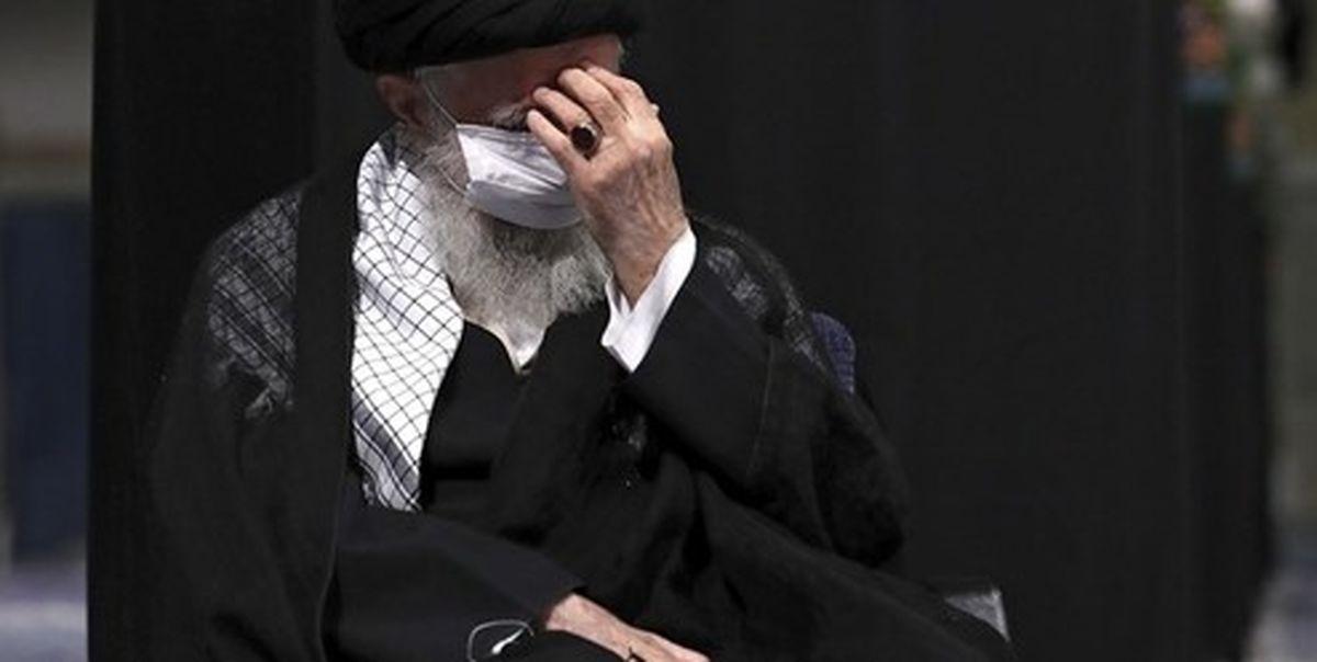مراسم عزاداری شب هشتم ماه محرم با حضور رهبر انقلاب