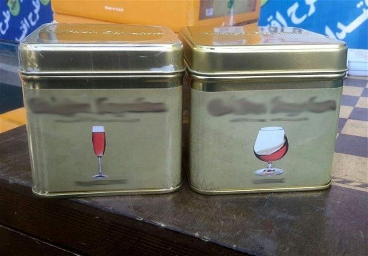 کشف محموله تنباکو با طعم شراب!+عکس