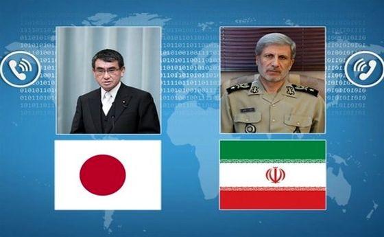 در گفتوگوی تلفنی امیرحاتمی با وزیر دفاع ژاپن چه گذشت؟
