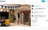 طراحی ماه رمضانی خانه محمد صلاح +عکس