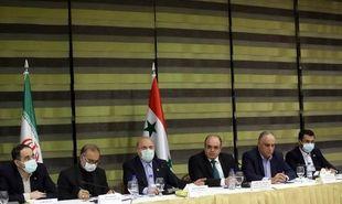 تصاویر: نشست تجار و بازرگانان ایرانی و سوری با قالیباف