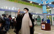 رئیسی در انتخابات شرکت کرد +عکس