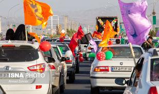 تصاویر: کاروان شادی خودرویی غدیر در قم