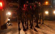 حمله وحشیانه نظامیان اسرائیلی به زن فلسطینی +فیلم