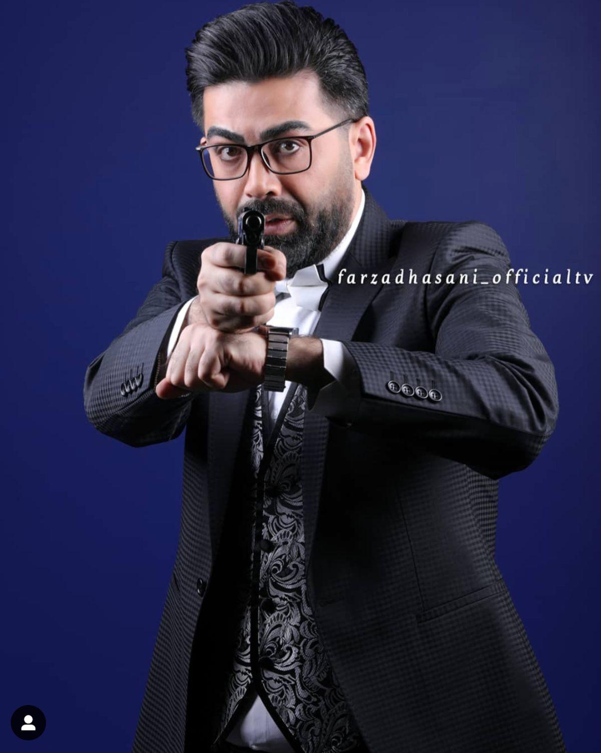 دعوای فرزاد حسنی با بازیگر معروف + فیلم