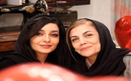 شباهت باورنکردنی ساره بیات و مادرش +عکس