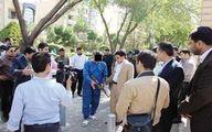 اعدام در انتظار سارق مسلح ۲۲ بانک +عکس