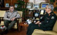 سردار سرلشکر باقری با فرمانده کل ارتش دیدار کرد