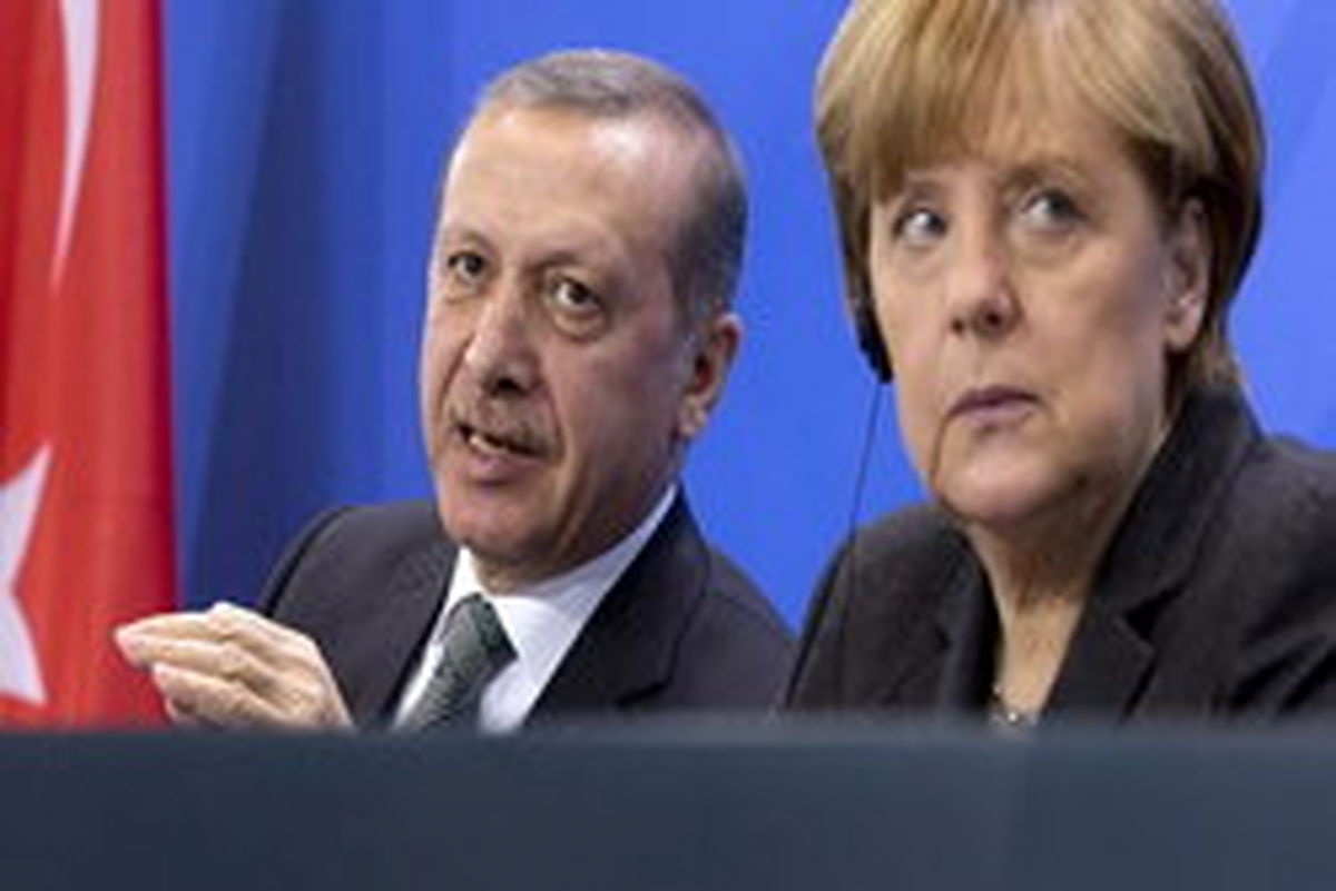 اردوغان و مرکل دیدار کردند