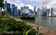 تصاویر: فروشگاه شناور اپل در سنگاپور